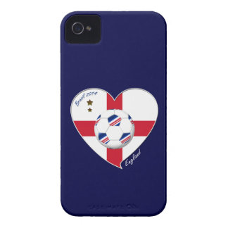 """""""ENGLAND"""" Soccer Team. Soccer of England 2014 iPhone 4 Case-Mate Case"""