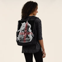 England St George And The Dragon Backpack