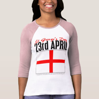England, St George's Day Shirt