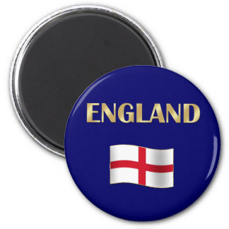 England St Georges flag Gifts 2 Inch Round Magnet