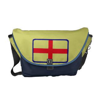 England St Georges flag messenger bag