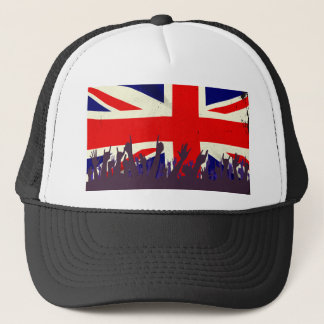 England State Flag with Audience Trucker Hat