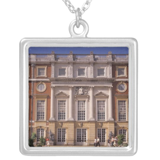 England, Surrey, Hampton Court Palace. 2 Silver Plated Necklace