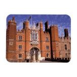 England, Surrey, Hampton Court Palace. 3 Rectangular Photo Magnet