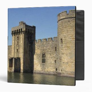England, Sussex, Bodiam Castle. 3 Ring Binder