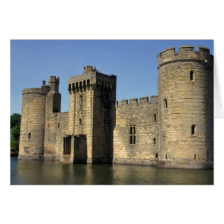 England, Sussex, Bodiam Castle. Card