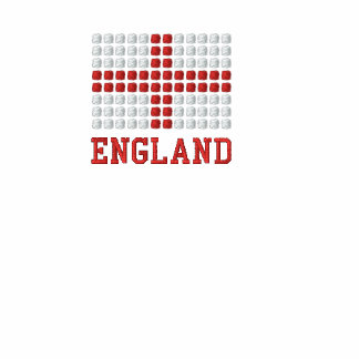 England T-Shirt - English red cross flag