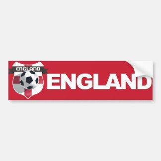 England Team Bumper Sticker