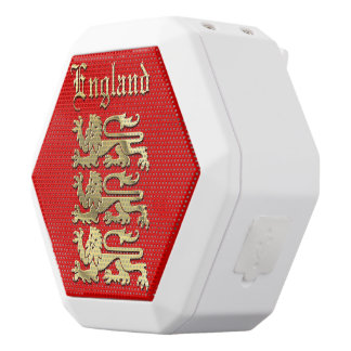 England - The Royal Arms White Bluetooth Speaker