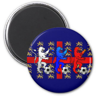 England Three Lions football players magnet