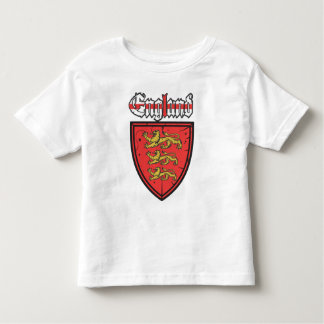 England Three Lions Shield Toddler T-shirt