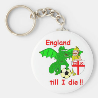 England till I die !! Key Chains