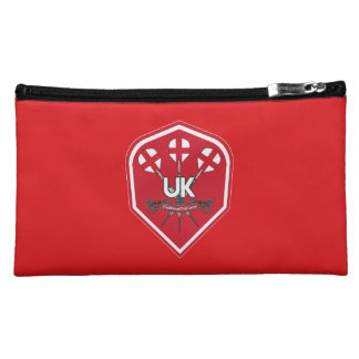 England Traditional Pub Games Makeup Bag