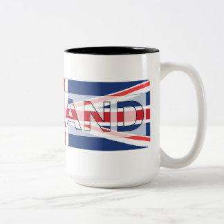 England Two-Tone Coffee Mug