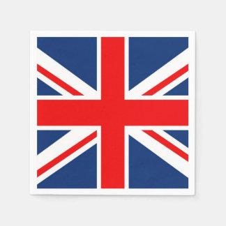 England UK Flag Standard Cocktail Napkin