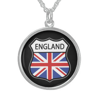 England (UK) Sterling Silver Necklace