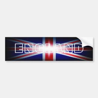 England Union Jack Bumper Sticker Car Bumper Sticker