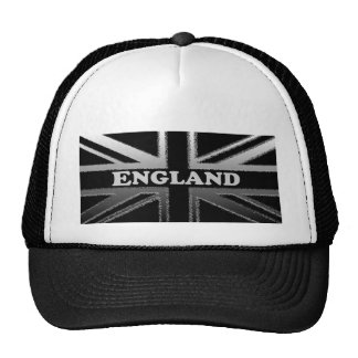 England Union Jack Flag Design Trucker Hat