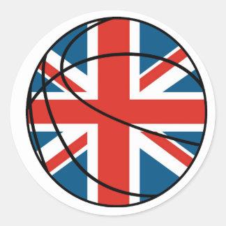 England Union Jack Sticker