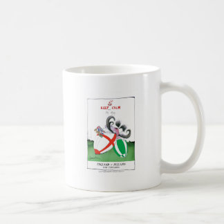 england v ireland rugby balls - from tony fernande coffee mug