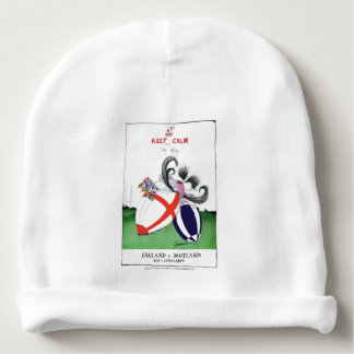 england v scoland rugby balls from tony fernandes baby beanie