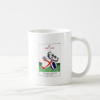 england v scoland rugby balls from tony fernandes coffee mug