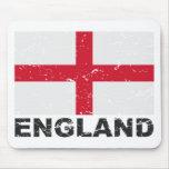 England Vintage Flag Mouse Pad