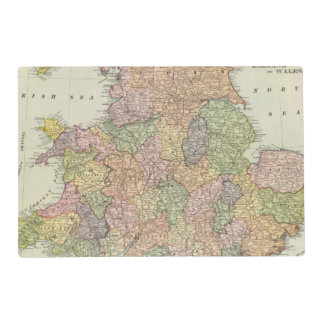 England, Wales 2 Placemat