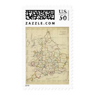 England, Wales 4 Postage
