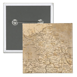 England, Wales Map by Arrowsmith Button