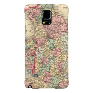England, Wales Map by Mitchell Galaxy Note 4 Case