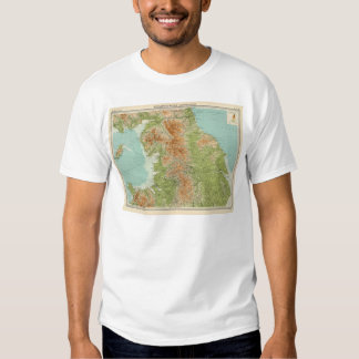 England & Wales, northern section T-Shirt