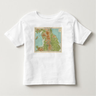 England & Wales, northern section Toddler T-shirt