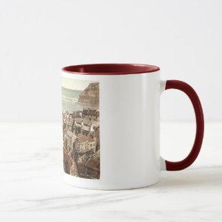 England  whitby Staithes 1890's Mug