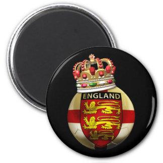 England World Champion 2 Inch Round Magnet