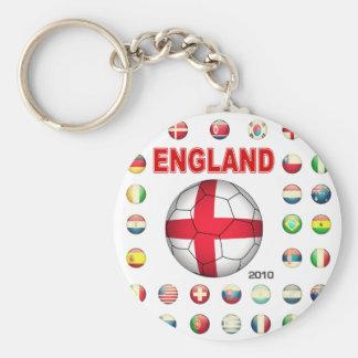 England World Cup T-Shirt Keychain
