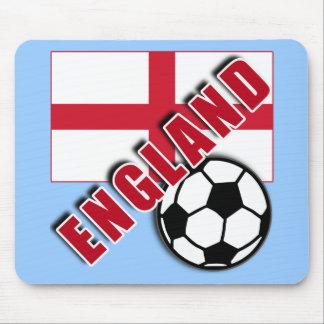ENGLAND World Soccer Fan Tshirts Mouse Pad