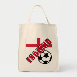 ENGLAND World Soccer Fan Tshirts Tote Bag