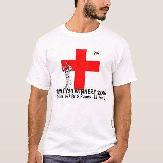 England world Twenty20 winners T-Shirt