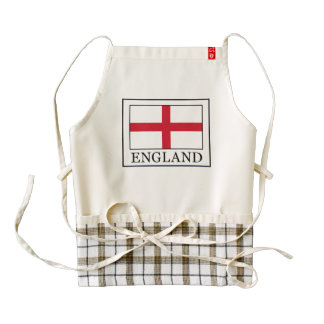 England Zazzle HEART Apron