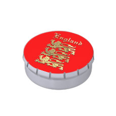 England's Coat of Arms Jelly Belly Tin