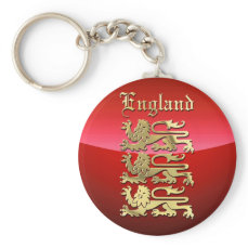 England's Coat of Arms Keychain