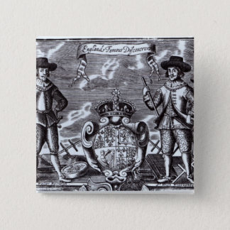 England's Famous Discoverers Pinback Button