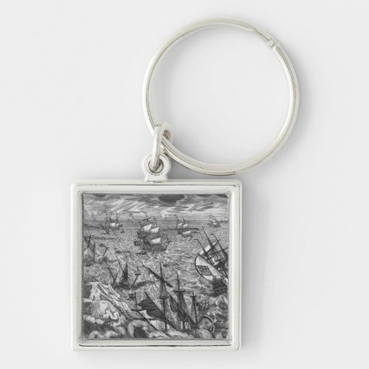 England's Great Storm Keychain