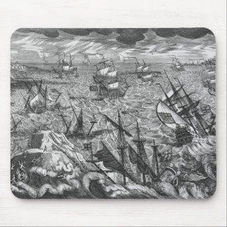 England's Great Storm Mouse Pad