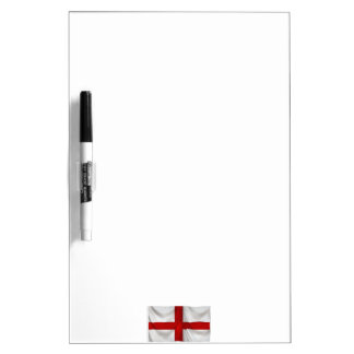 England's St George Cross Patriotic Flag Dry Erase Whiteboards