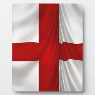 England's St George Cross Patriotic Flag Plaque