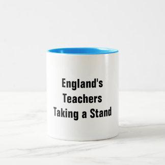 England's Teachers Taking a Stand Mugs