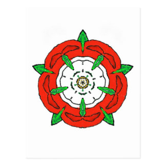England's Tudor Rose Postcard