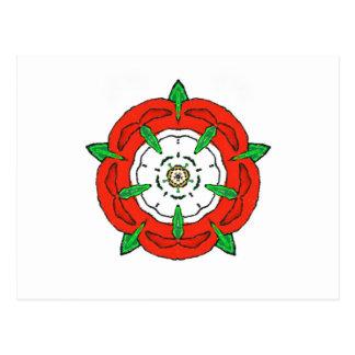 England's Tudor Rose Post Card
